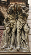Karluv Most Photos - Caryatid in Prague - 02 by Gregory Dyer