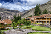 Private Collection Framed Prints - Casa Andina - Sacred Valley - Peru Framed Print by Jon Berghoff