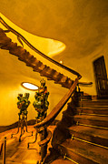 Architectural Art - Casa Batllo Grand Staircase by Deborah Smolinske