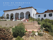 Casa Romantica Framed Prints - Casa De Romantica Framed Print by Carolyn Toshach