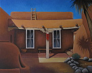 Albuquerque Paintings - Casa San Ysidro by Gayle Faucette Wisbon