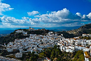 Casares Metal Prints - Casares In December Metal Print by Piet Scholten