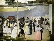 Casas I Carbo, Ram�n 1866-1932. Evening Print by Everett