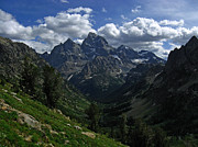 Raymond Salani Iii Photos - Cascade Canyon North Fork by Raymond Salani III
