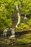 Tennessee Metal Prints - Cascading Down Metal Print by Andrew Soundarajan