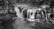 David Millenheft - Cascading falls-Lower...