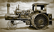 Greyhound Photos - Case 110 Hp Steam Tractor by F Leblanc