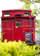 Old Caboose Photos - Caseys Caboose by George Puvvada