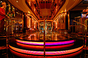 Neon Prints - Casino Entrance Adventure of the Seas Print by Amy Cicconi