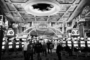 Value Framed Prints - casino floor of caesars palace luxury hotel and casino Las Vegas Nevada USA Framed Print by Joe Fox