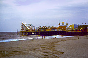 Casino Pier Boardwalk - Seaside Heights Nj Print by Glenn Feron