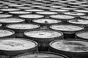 Distillery Prints - Casks Print by Ralf Kaiser
