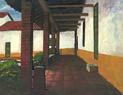 Print On Acrylic Prints - Casona Print by Nestor Martinez