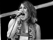Cassadee Pope Drawings Framed Prints - Cassadee Pope Framed Print by Kevin Contreras