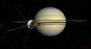 David Robinson - Cassini entering the...