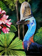 Sandra Sengstock-Miller - Cassowary- King of the...