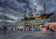 Ocean City Nj Prints - Castaway Cove Print by Lori Deiter