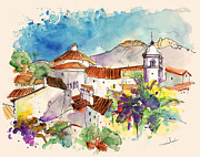 Castelo De Vide In Portugal 01 Print by Miki De Goodaboom