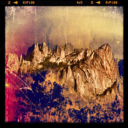 Instagram Posters - Castle Crags Poster by Jill Battaglia