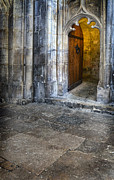 Cloistered Prints - Castle Door Print by Jill Battaglia