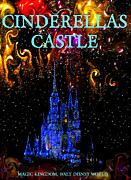 Cinderellas Castle Prints - Castle Dreams Print by David Lee Thompson