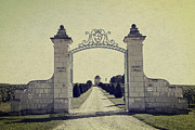Castle Gates Framed Prints - Castle Gateway of Ancient Times Framed Print by Heiko Koehrer-Wagner