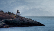 Ri Lighthouse Prints - Castle Hill Dream Print by Joan Carroll