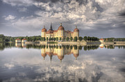 Manor Prints - Castle in the Air Print by Heiko Koehrer-Wagner