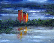 Iconic Paintings - Castle Kilcoe by Alys Caviness-Gober