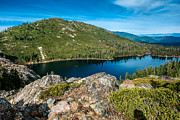 Castle On Mountain Prints - Castle Lake Basin Print by Greg Nyquist