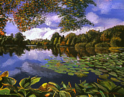 Best Choice Paintings - Castle Lake by David Lloyd Glover