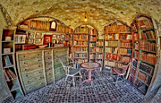 Castle Photos - Castle Map Room by Susan Candelario