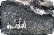 Residents Framed Prints - Castle Neuschwanstein  Framed Print by Heiko Koehrer-Wagner