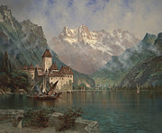 Edwin Deakin - Castle of Chillon