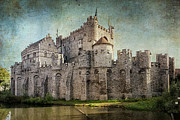 Light And Shadow Photos - Castle of the Counts by Joan Carroll