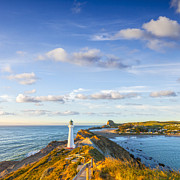Region Prints - Castlepoint Lighthouse New Zealand. Print by Colin and Linda McKie