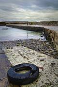 Topaz Originals - Castletown Harbour by Chris Cardwell