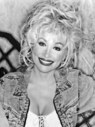 Dolly Parton Prints - Casual Dolly  Print by Brian Graybill