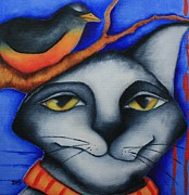 Deb Harvey - Cat and Robin