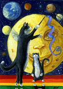 Jacquelin Vanderwood - Cat in the Moon