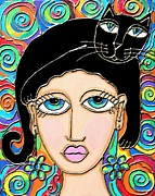 Cynthia Snyder - Cat Lady with Black Hair
