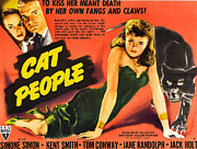 Black Leopard Posters - Cat People Poster by Studio Release