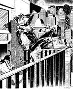 Cats Originals - Cat Woman The Heist  by Ken Branch