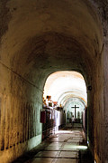 Sicily Photo Prints - Catacombs in Palermo Print by David Smith