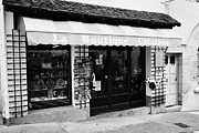 Catalan Prints - Catalan Goods Shop Souvenirs In Mont-louis Pyrenees-orientales France Print by Joe Fox