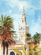 The Americas Paintings - Catedral de Sevilla by Bill Holkham
