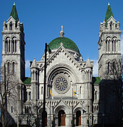 Catholic Art Photo Originals - Cathedral Basilica of Saint Louis by Byron Snider