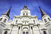 French Quarter Photos - Cathedral-Basilica of St. Louis King of France by Paul Velgos