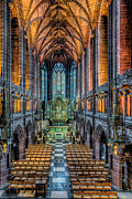 Liverpool Digital Art Prints - Cathedral Chapel Print by Adrian Evans