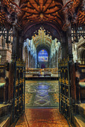 Cathedral Choir Gates Print by Ian Mitchell